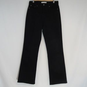 LEVIS 512 Perfectly Slimming Boot Cut Jeans 4 Blk